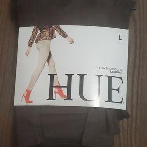 Hue brown suede leggings